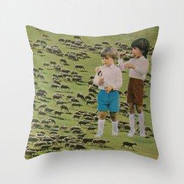 Animal kids Throw Pillow