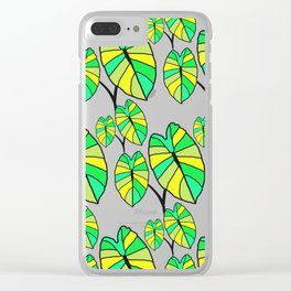 Loʻi Love Clear iPhone Case