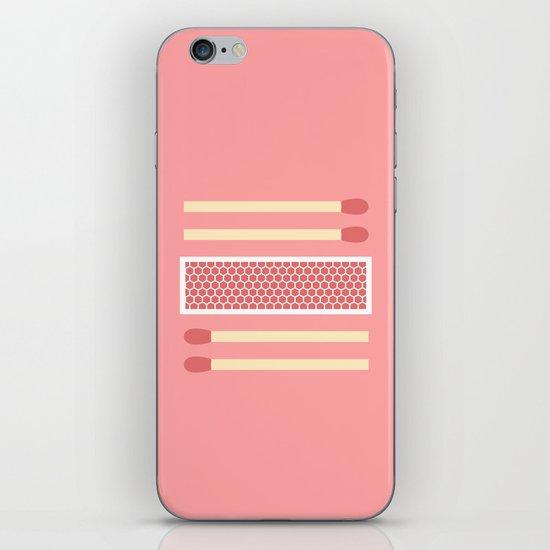 #75 Matches iPhone & iPod Skin