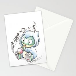 Lax Now. Munch Later Stationery Cards