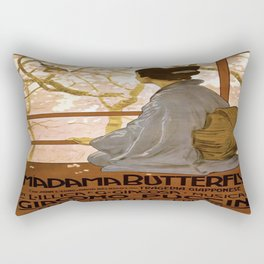 Vintage poster - Madama Butterfly Rectangular Pillow