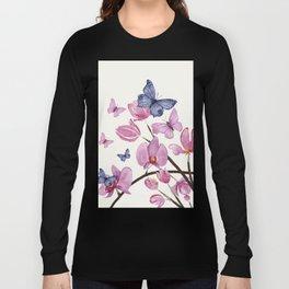 Flowers and butterflies Long Sleeve T-shirt