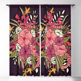 Jungle Bouquet 001 Blackout Curtain