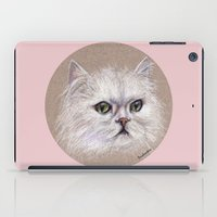 persian iPad Cases featuring Persian cat by Pendientera