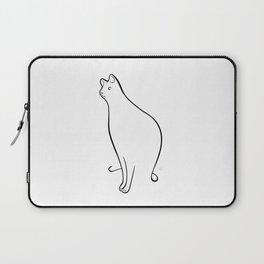 Linear Cat 01 Laptop Sleeve