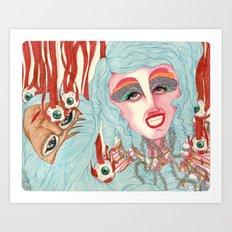 Cabaret Art Print