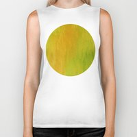 lime Biker Tanks featuring Lemon/Lime by Benito Sarnelli