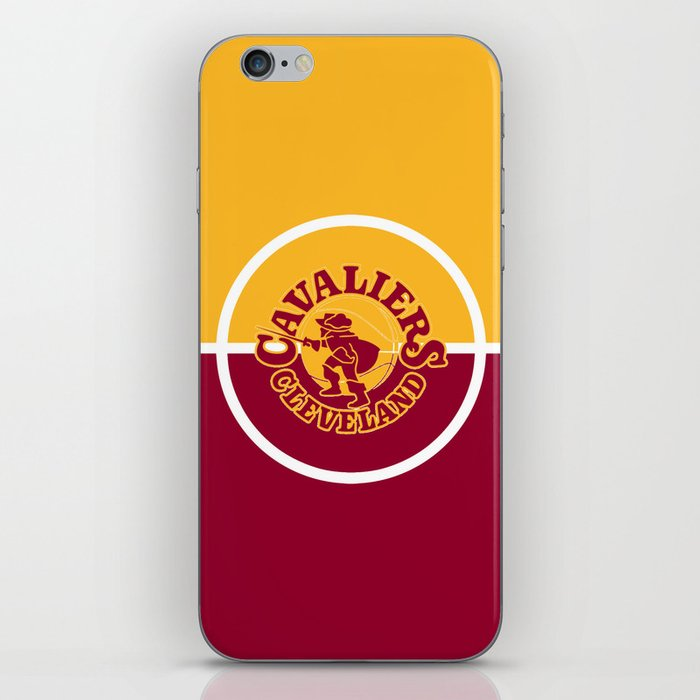 Cavaliers All In C iPhone Skin