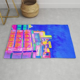 Sea Side Beach Atmosphere Rug