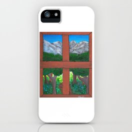 Window To The World iPhone Case