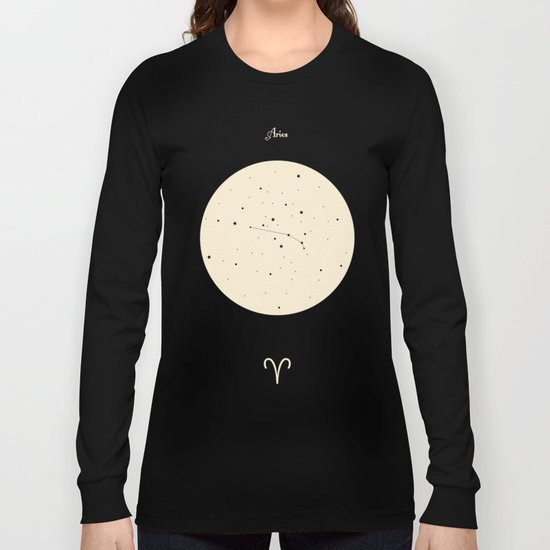 Aries - Black Long Sleeve T-shirt