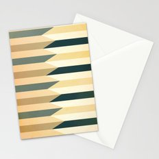 Pencil Clash I Stationery Cards