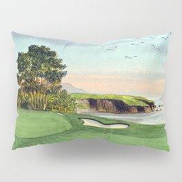 Pebble Beach Golf Course 5th Hole Pillow Sham