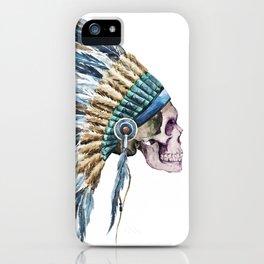 Skull 04 iPhone Case