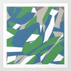 Hastings Zoom Green Art Print