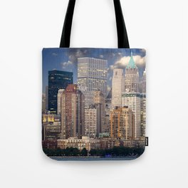 New York Manhattan Tote Bag