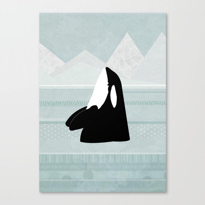 Orca Leinwanddruck