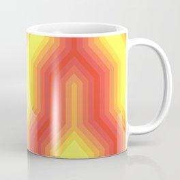 Retro Chevron Sunny Coffee Mug