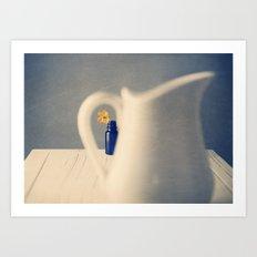 Peeping Art Print