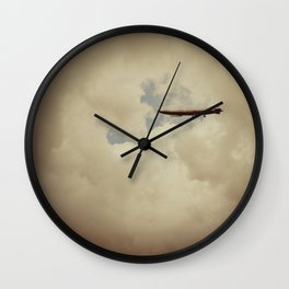 When They Fall Back To Earth Wall Clock