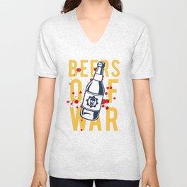 Beers of War Unisex V-Neck
