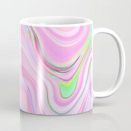 Pastel Pink & Violet Lava Marble Coffee Mug