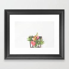 Hawaiian Bouquet Framed Art Print
