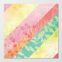 Whim Stripes Canvas Print