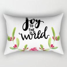 Joy to the World Rectangular Pillow