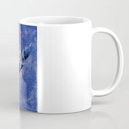 Thistle and Weeds_deep purple Coffee Mug