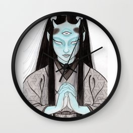 Third Eye Yurei Wall Clock