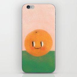 Happy happy Tangerine iPhone Skin