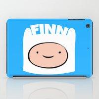 finn iPad Cases featuring FINN by Sara Eshak