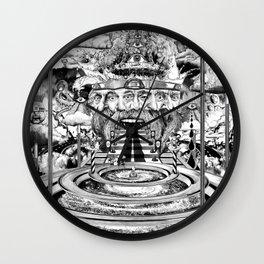 AL BUEN TIEMPO, MALA CARA Wall Clock