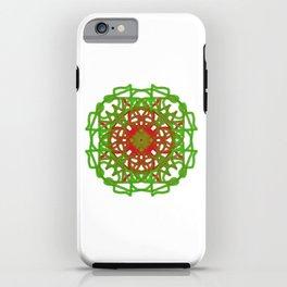 Faux Mandala Ornament iPhone Case