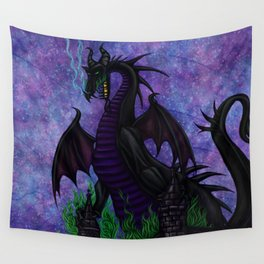 Dragon Maleficent Wall Tapestry