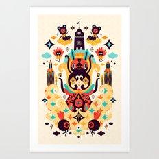 The Secret Key Art Print