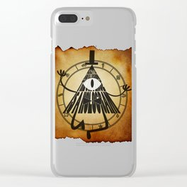 Bill Cipher Papyrus Clear iPhone Case