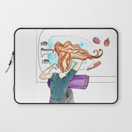 Washing Hair Laptop Sleeve