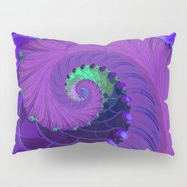 Unfurling Fractal Pillow Sham