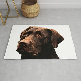 Chocolate Lab bywhacky Rug