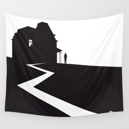 The Black Collection' Hitchcock Movie Wall Tapestry