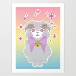 Cutesy ram! Art Print