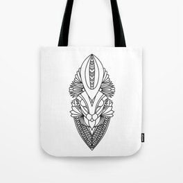 Bunny Totem Tote Bag