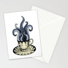 Kraken tea Stationery Cards
