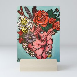 Budding Love Mini Art Print