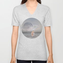 How did I get here, how can I go home. Unisex V-Neck
