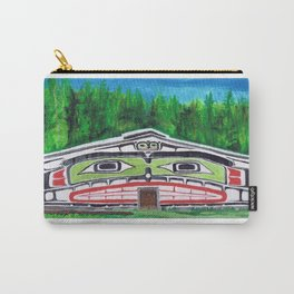 Alert Bay Longhouse Carry-All Pouch