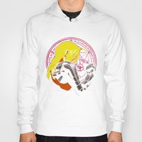 fullmetal Hoodies featuring YELLOW HAIR ALCHEMIST by BradixArt