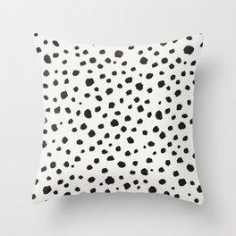 Spots Animal Print Throw Pillow
